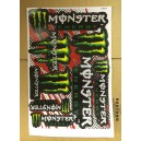 Dekalark Mini Monster Energy Grön