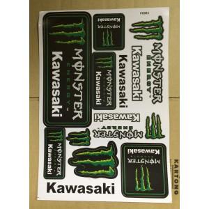 Dekalark Mini Monster Energy Kawasaki