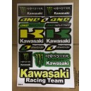 Dekalark Mini Kawasaki Monster Racing Team